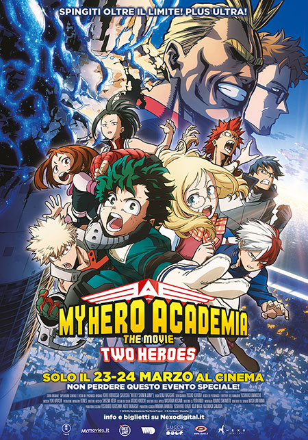 My Hero Academia – The Movie – Two Heroes