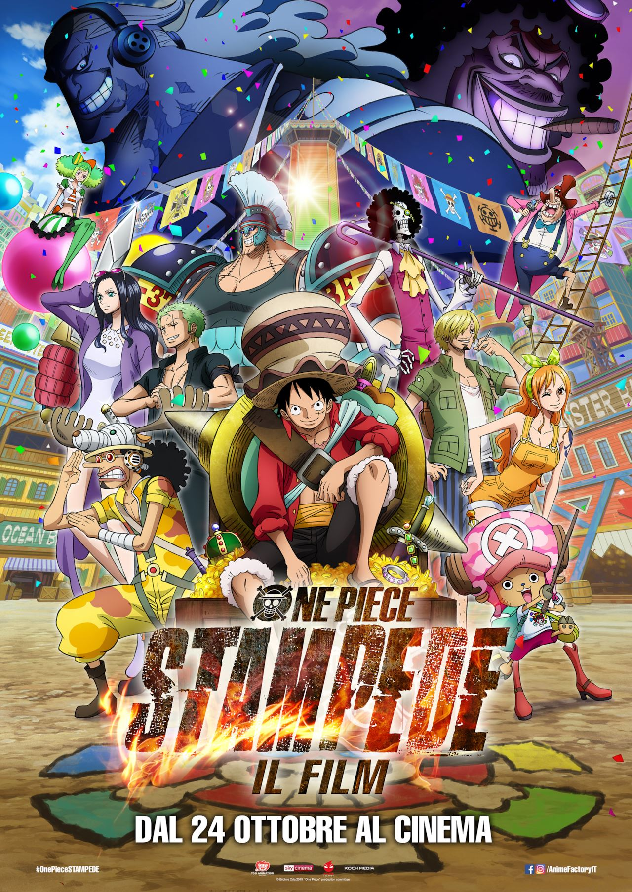 One Piece Stampede – Il Film