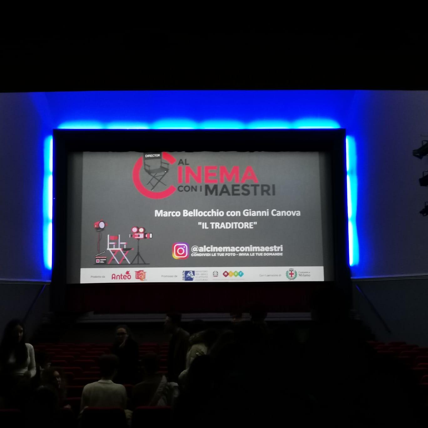 Al Cinema coi Maestri – iniziativa per le scuole
